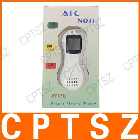 Breath Alcohol Tester Breathalyzer Detector Test AT178