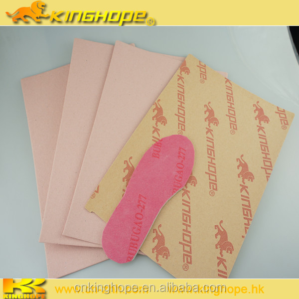 0.8mm Full Length Breathable paper insole board for MAKING SHOES