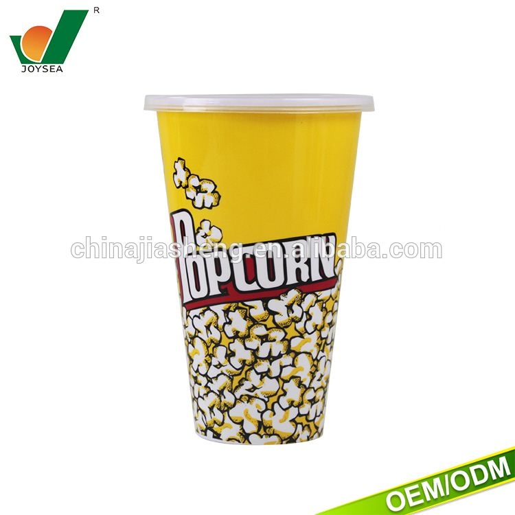 microwave plastic container Can be customized High quality popcorn barrel
