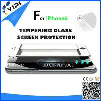 3D For IPhone 6 Full Coverage Tempered Glass Screen Shield 9H Anti Explosion/Tempered Glass Screen Protector