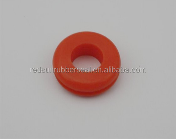 food grade red silicone rubber grommet