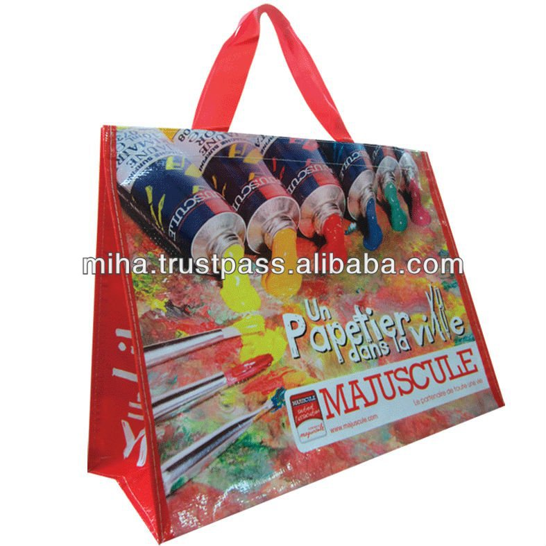 wholesale brand bag pp non-woven shopping bag made in Vietnam export worldwide