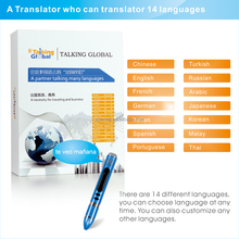 2017 Custom Talking Pen, Electronic reading pen translator, multi language translator