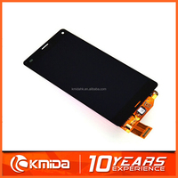 Cheap price mobile phone touch screen for sony xperia z3 compact panel with frame