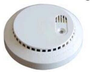 household battery powered smoke and carbon monoxide detector