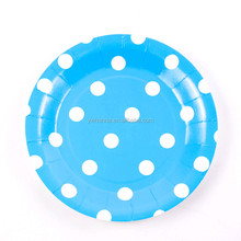 Hot Selling Birthday Supplies Paper kid Party Set Paper plate