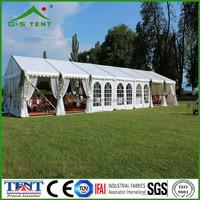 aluminum glass wedding party tent with air conditioner