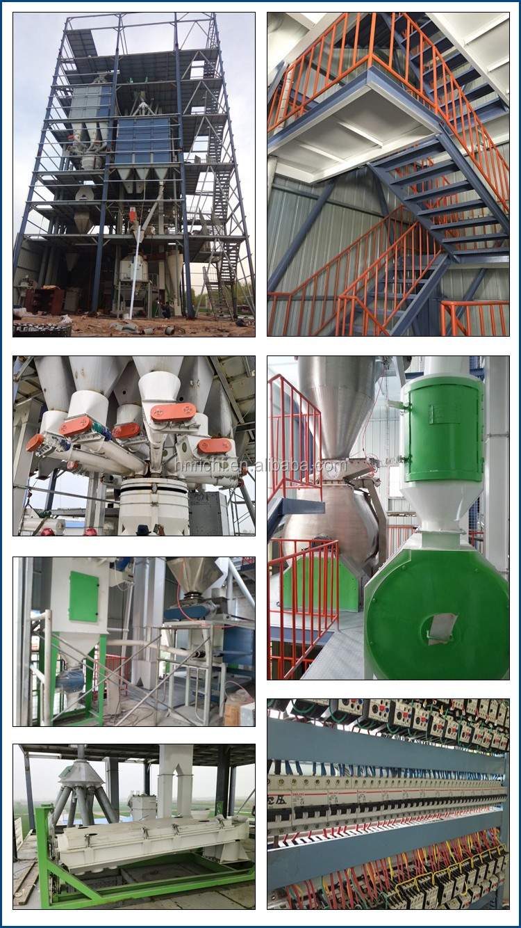 Animal feed machinery / animal feed processing plant / animal feed pallet machine