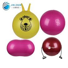 body building smooth eco pvc space hopper ball