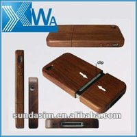wooden case for iphone 4