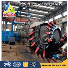 Factory direct all-hydraulic 18 Inch Cutter Suction Dredger for Sale
