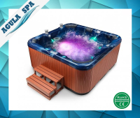 Air jet bath tub