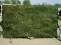 Biggest Factory Tropical Rainforest Green Marble Slab with Low Price