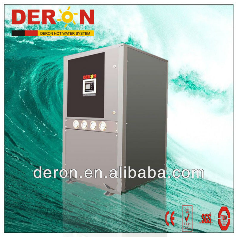Green energy Good quality High COP water to water Solar Heat Pump (Open Loop) with 63.5kw with RA10a R 417a