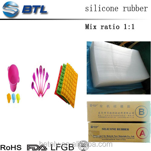 silicone compound rubber for mould making