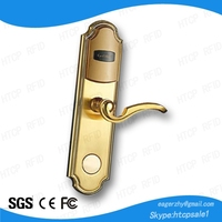 classical smart RFID card hotel electronic door lock with free software