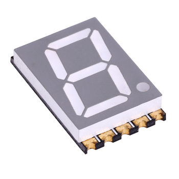 0.56 inch white 7-segment led smd smt seven 7 segment display 0.56""