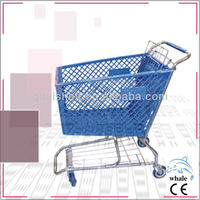 Mini supermarket plastic trolley