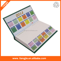 Paper gift executive office stationery notepad with calendar