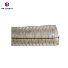 4 inch large diameter clear pvc pipe/plastic tube