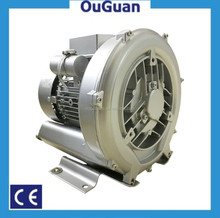 Single stage high capacity air blower oxygen pump