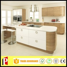 Wood grain modern kitchen designs kitchen furniture wood door