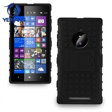 robot kickstand case cover for nokia lumia 830 shockproof back case