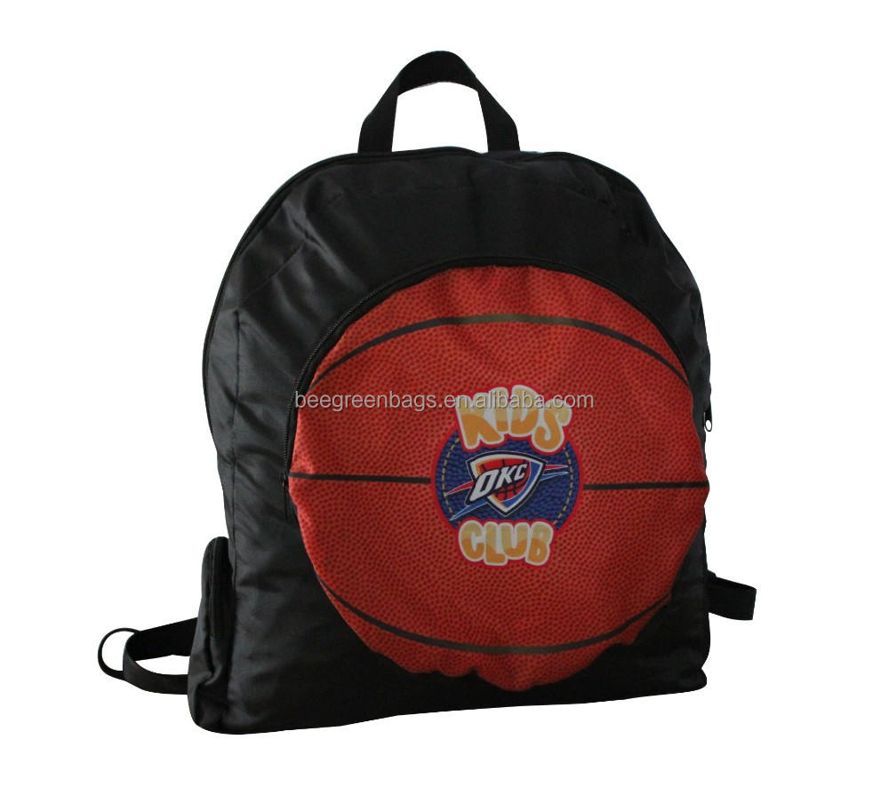 outdoor cheap 600D basketball backpack bag