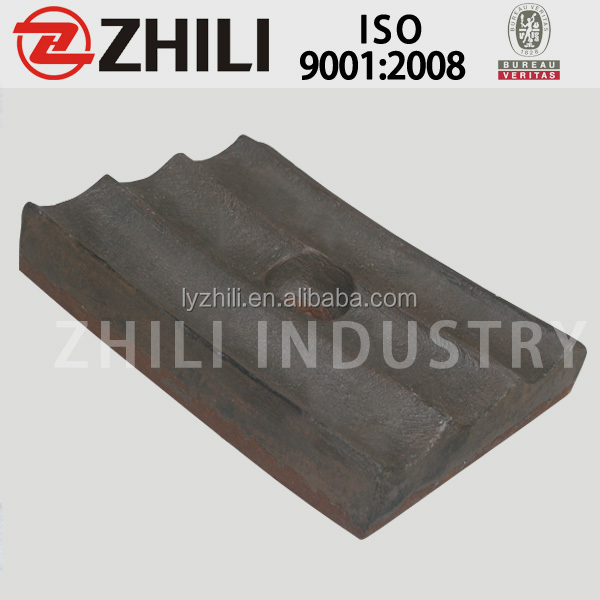 factory selling new design mill coal mill liner lining plates for ball mill crusher