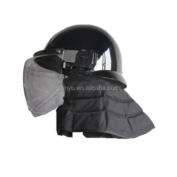unbreakable and nonflammable riot control helmet police manufacturer/anti riot helmet for sale