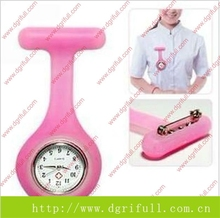 2015 hot new can customized silicone nurse watches