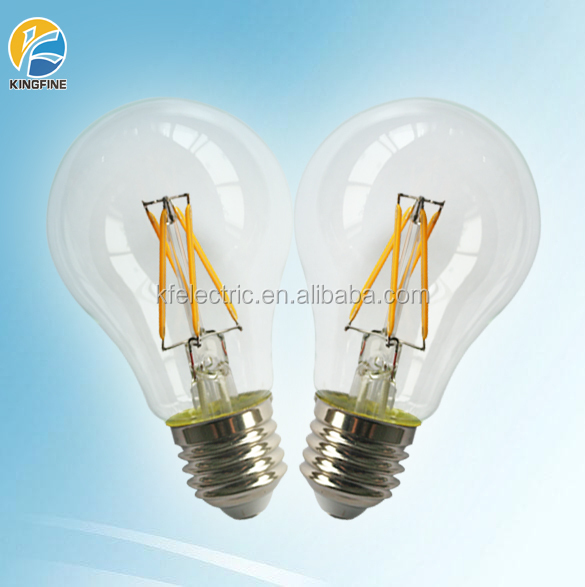 New Model! 6W Clear LED Filament Bulb E27 660LM Incandescent bulb replacement COB-G6028N