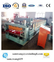 Botou XDL ce certification roof tile roll forming cold ibr or cnc coil panel double layer roll forming machine