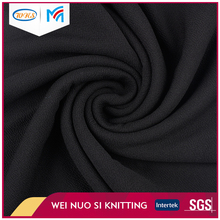 Good hand touch black poly spandex jacquard knitted fabric for clothes