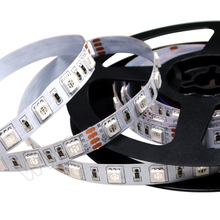 High Quality SHIJI LIGHTING 5050 SMD <strong>RGB</strong> 12V LED Strip For Architectural Decorative Lighting