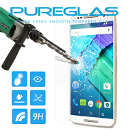 Clear Tempered Glass Screen Protector for Motorola X Style Glass Screen Protector