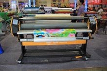 "54"" large format hot&cold Roll laminator/automatic laminating machine/hot laminator"