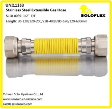 Extensible Flexible Metal Gas Hose