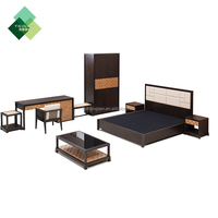 Complete Bedroom Set Used Solid Wood