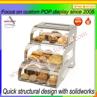 acrylic cake pop display stand for cake dome display stand