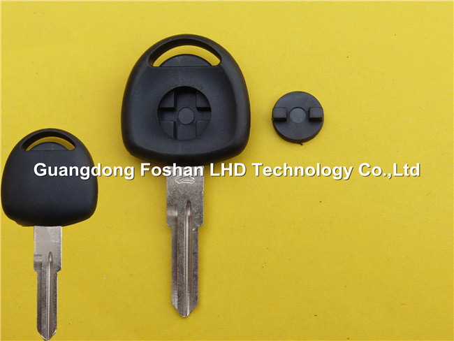 Factory price chevy gm transponder key blank key for Chevrolet with right blade