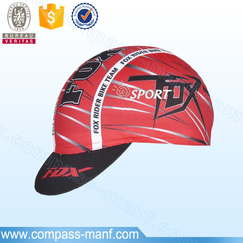 New Bike Cycling Cap Breathable Bicycle Hat Custom Cycling Headwear
