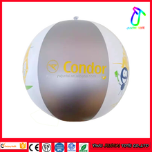 "advertising custom brand printed inflatable 48"" beach ball for promotion"