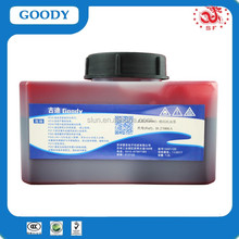 1200ml for Domino batch coding machine yellow ink IR-261