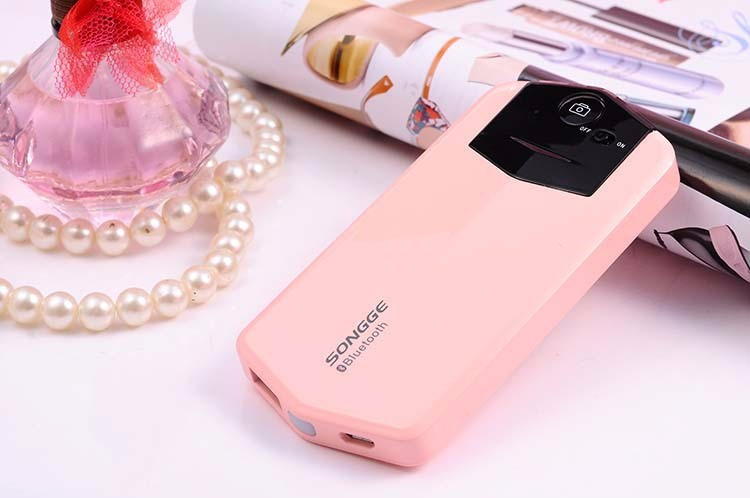 Latest New Design Beauty Bluetooth Selfie Power Bank