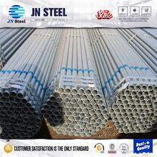 Steel Pipe building material /hollow tube /metal / Zinc Gi round pipe in Tianjin