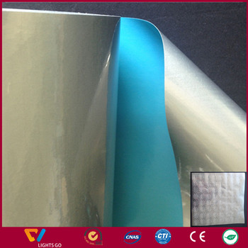 Heat Transfer Reflective Film, Iron-on Reflective Film, V-Reflex Reflective Material for Safety Garments