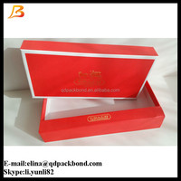 COACH paper box for long wallets/ brand box / gift box 22.5*13*4cm red