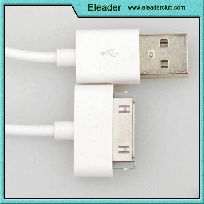 USB Charging and Sync Dock Connector Data Cable for iPhone 4S / iPad / iPod Touch/iPod Nano