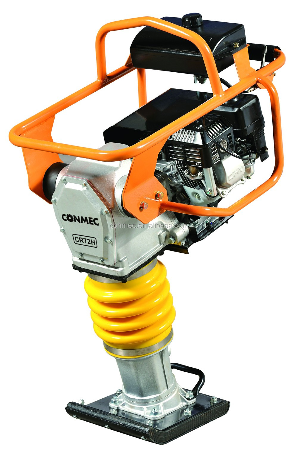5.5HP Honda Engine Vibratory Tamping Rammer with 5-8 Jumping Stroke